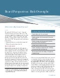 COSO 2013: Why Should You Care? - Board Perspectives: Risk Oversight, Issue 58 - Protiviti Newsletter