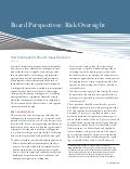 Board Perspectives: Risk Oversight, Issue 54 – How Risk Appetite Should Impact Behavior
