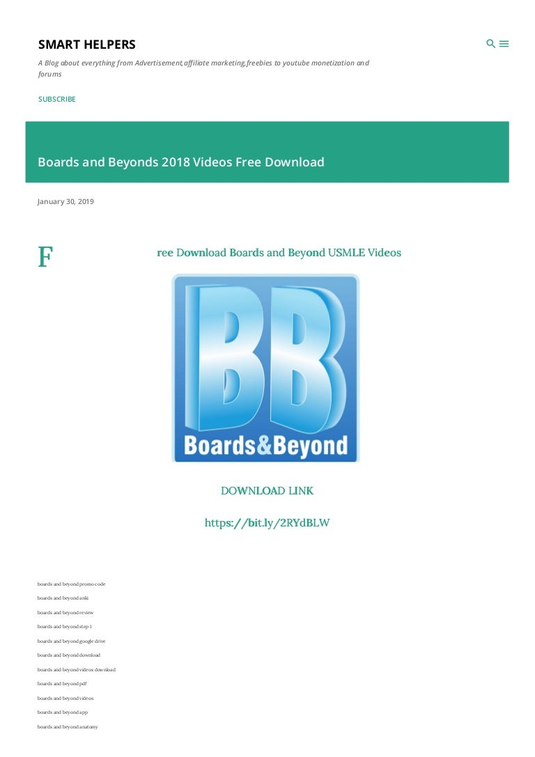 Boards and beyonds videos free download