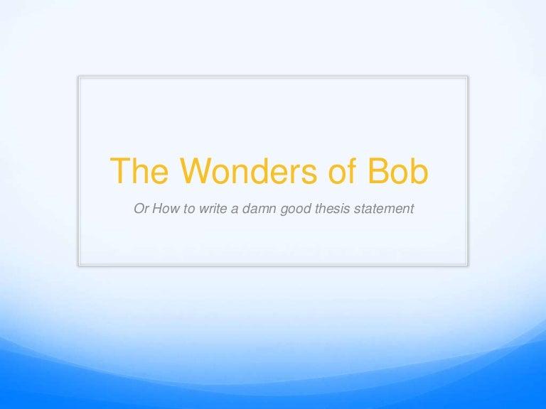 Bob laramee dissertation
