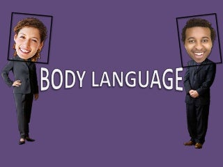 38 gestures of body language