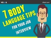 7 Body Language Tips For Your Job Interview
