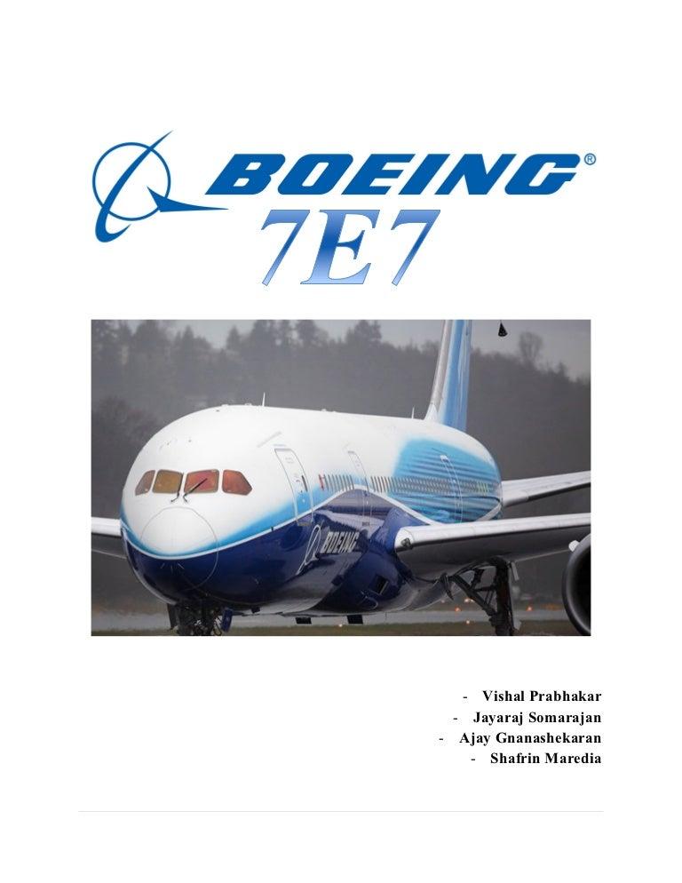 boeing 777 case study wacc