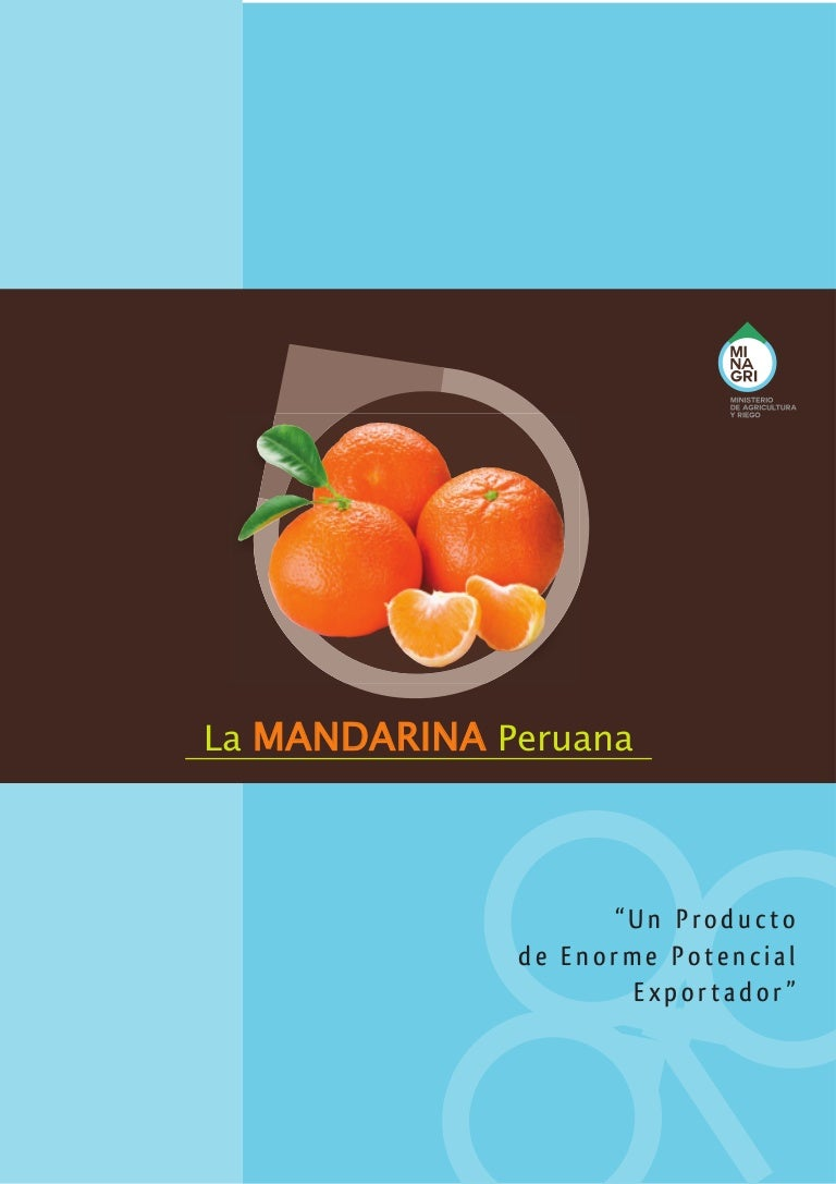 MINAG - Boletin Mandarina 2014 bb8df91e222