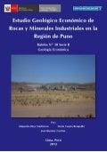 Boletin nº 030  estudio geologico y economico de rocas y materiales industriales en la region puno