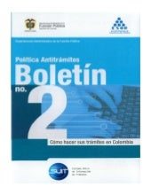 Boletín 2 política antitrámites dafp esap