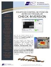Check inversion-control de posición en cartón