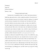 bolton movie evaluation essay g burton