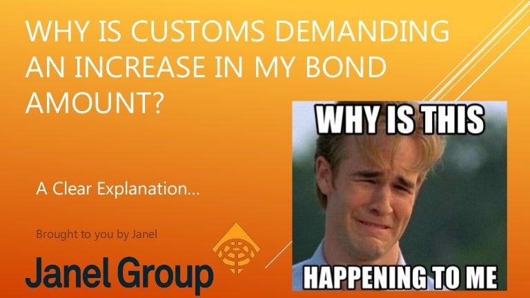 Customs Bonds What Is The Right Amount