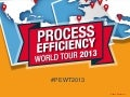 Bonitasoft - Process Efficiency World Tour 2013 - Paris