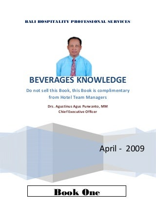 Book one-beverage-knowledge