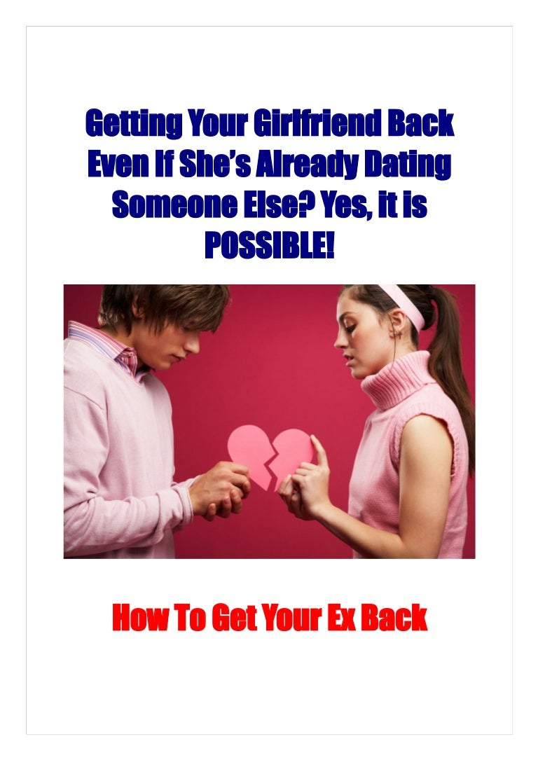 how to know if ex is dating someone else
