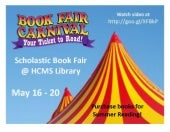 Book Fair May 2011