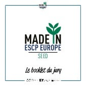Booklet made in ESCP Europe SEED 2016