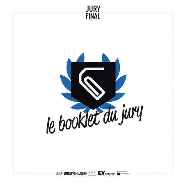 Booklet du Jury Final // Option E 2014