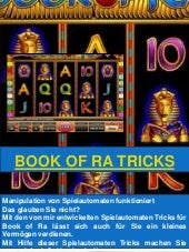 Book Of Ra Admiral Tricks