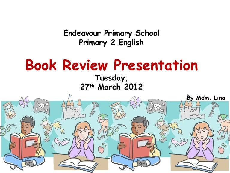 book review presentation ppt