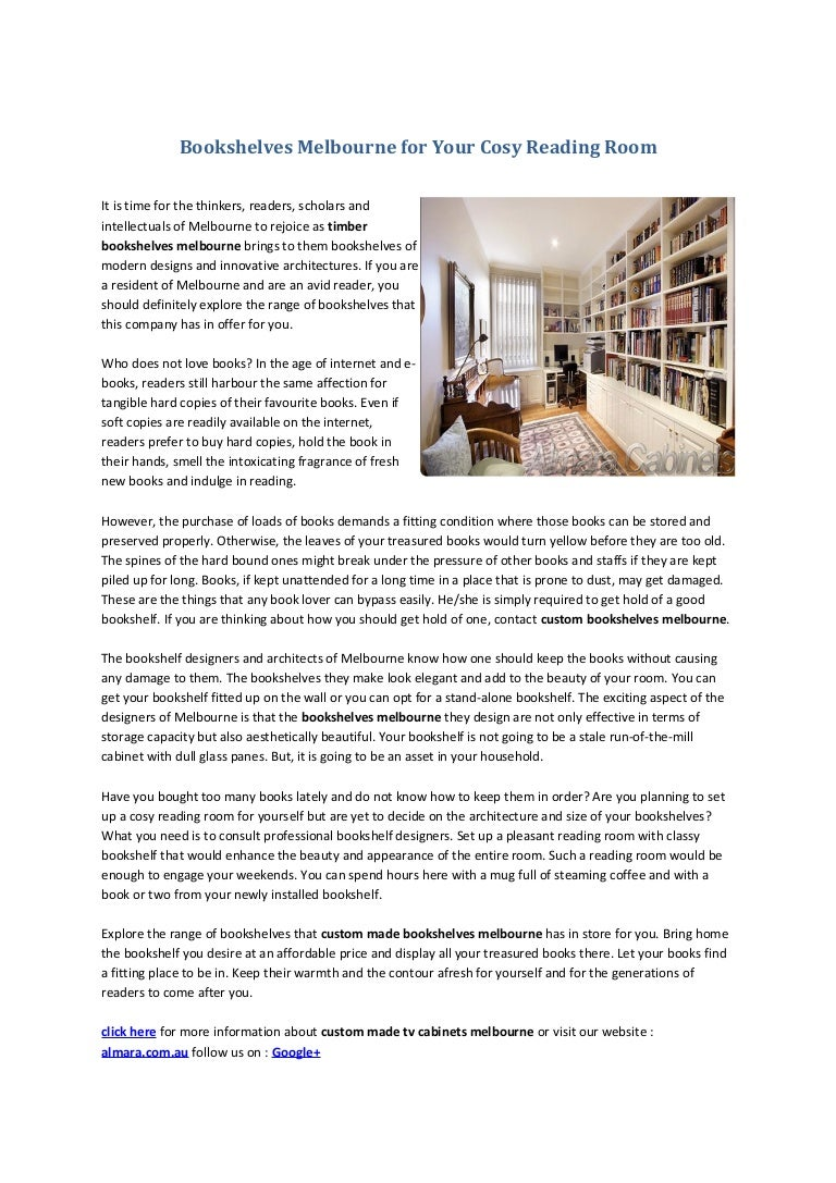 Bookshelvesmelbourneforyourcosyreadingroom 131127010212 Phpapp01 Thumbnail 4cb1385514150