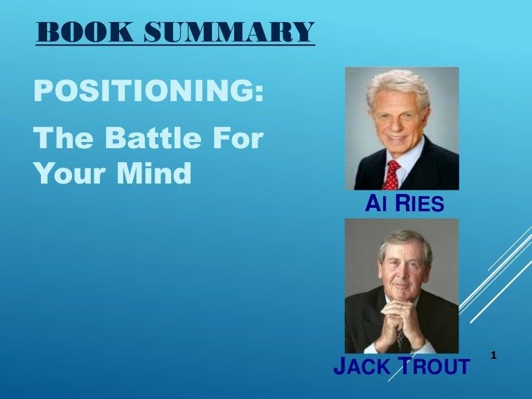 al ries jack trout positioning pdf