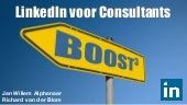 Boost3 - Ebook LinkedIn voor consultants