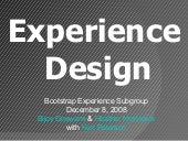 Bootstrap Experience