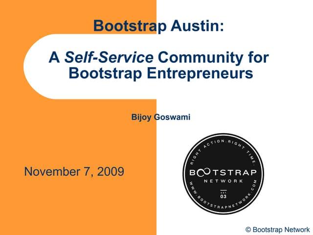 Bootstrap  Austin  Community