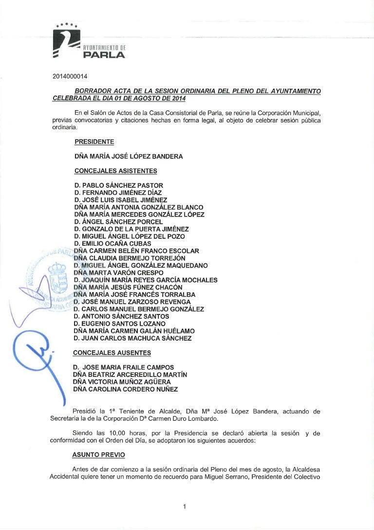 Pleno 01 agosto-2014 1ª parte