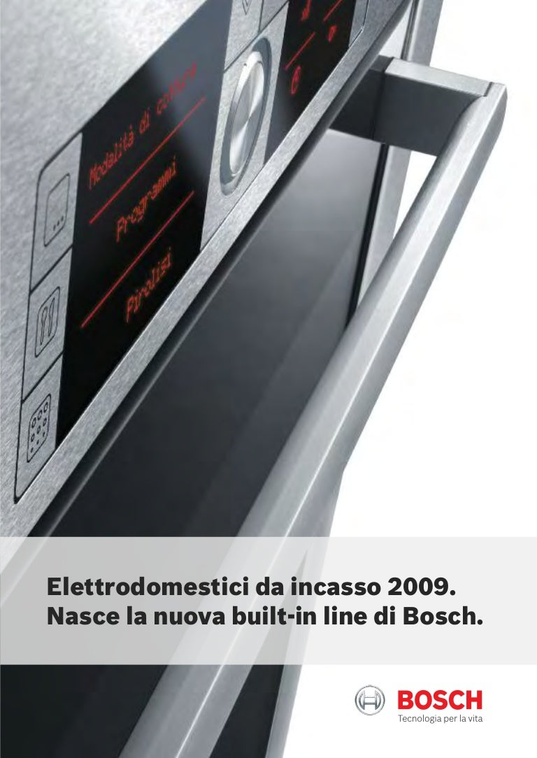 Catalogo Forni 2009
