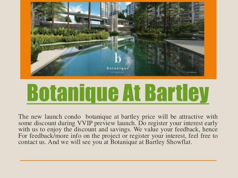 Botanique At Bartley Floor Plan