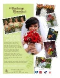 Buckeye Blooms Wedding Flower Print Ad