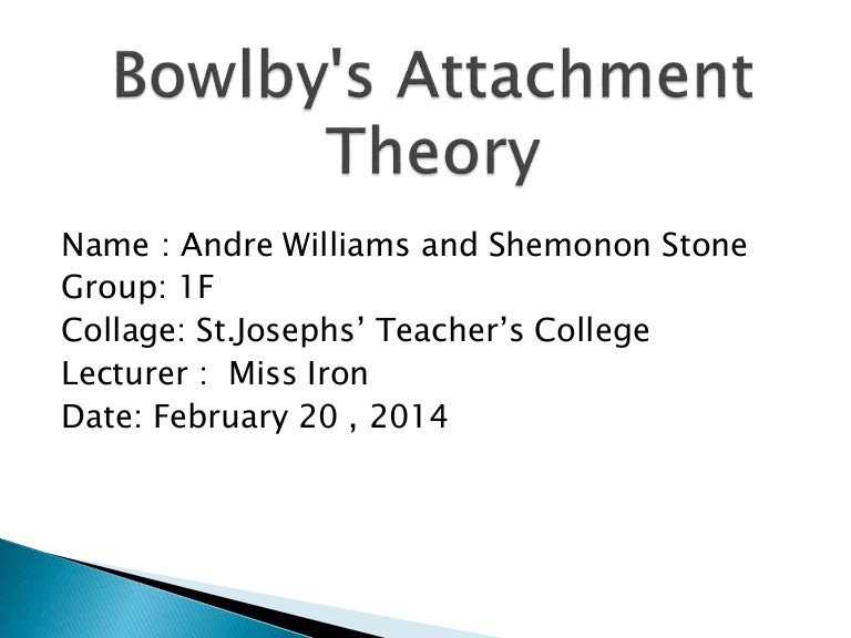 attachment theory and criminal behavior