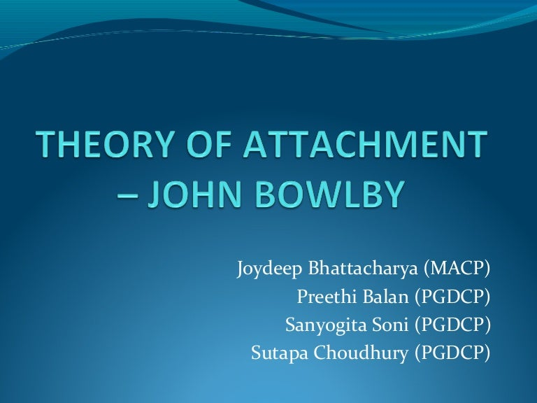 Ambivalent Quotes Quotesgram: Bowlby's Theory Of Attachment