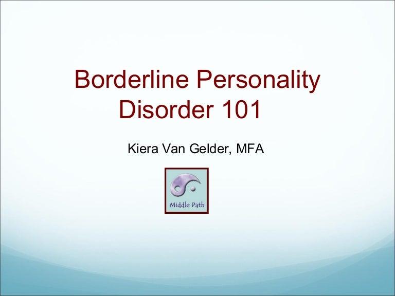 a borderline personality disorder primer by kiera van gelder mfa