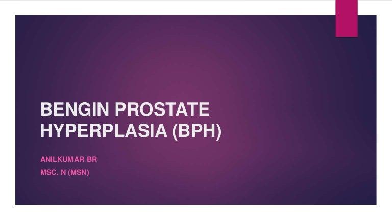 benign prostatic hyperplasia pathophysiology ppt Prosztatarák működése