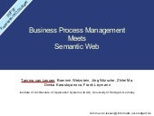 BPM meets Semantic Web