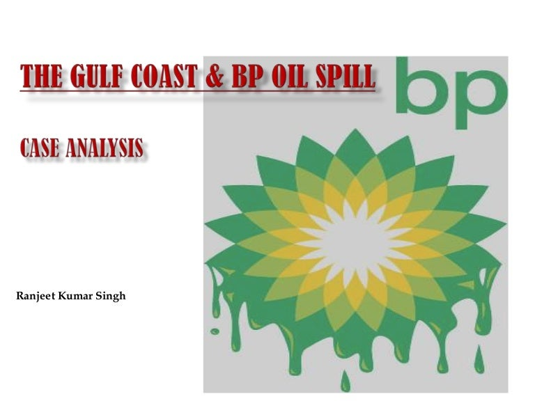 bp oil spill case study
