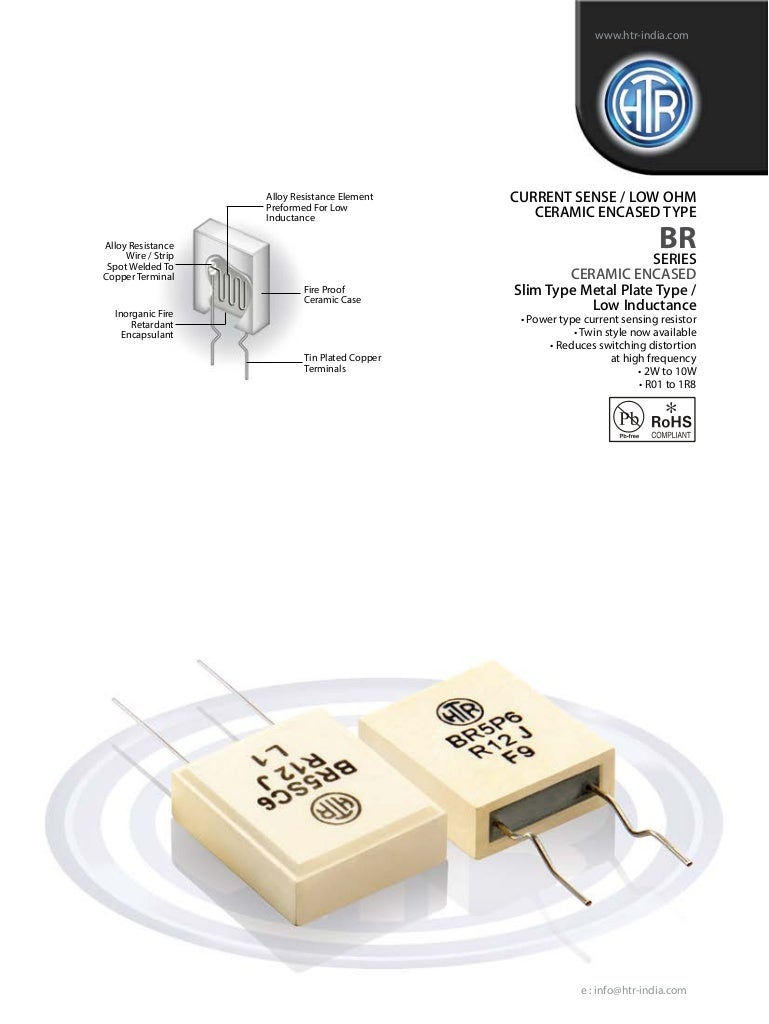 Htr India Products Current Sense Resistors Ceramic Encased Resi Sensor Switch Wiring Diagram