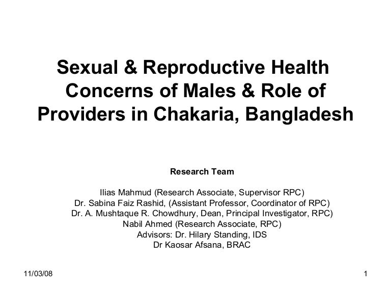 a research proposal on reproductive health Good reproductive health policy starts with credible research documenting adolescent sexual and reproductive behaviors periodic household surveys, such as the demographic and health surveys (dhs), provide critical national and subnational information about a range of issues, including sexual.