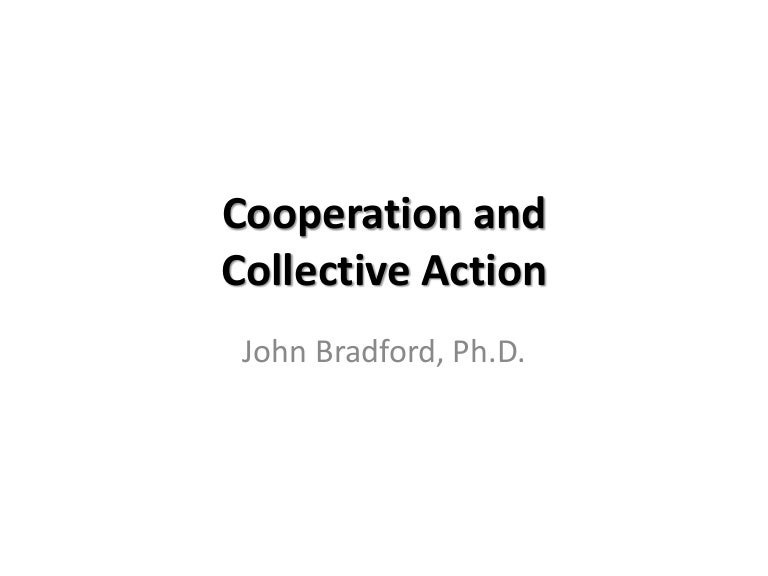 Topic 3 Cooperation And Collective Action