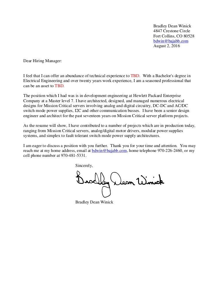 brad winick resume 8 2
