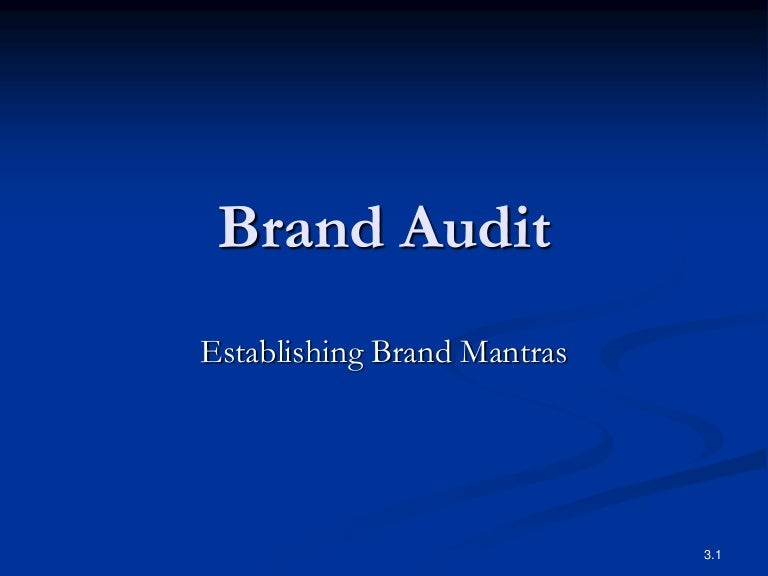 Brand audit example essays about education