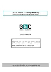 Livre blanc celebrity marketing