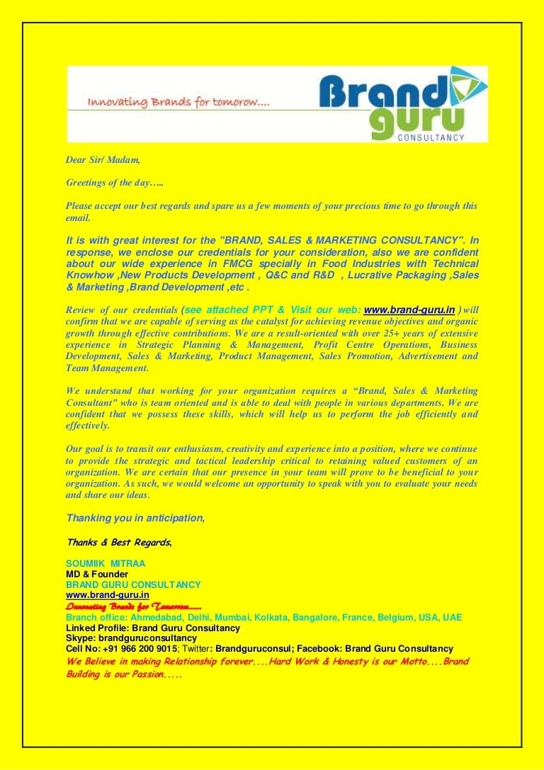 Guru consultancy cover letter brand guru consultancy cover letter kristyandbryce Image collections