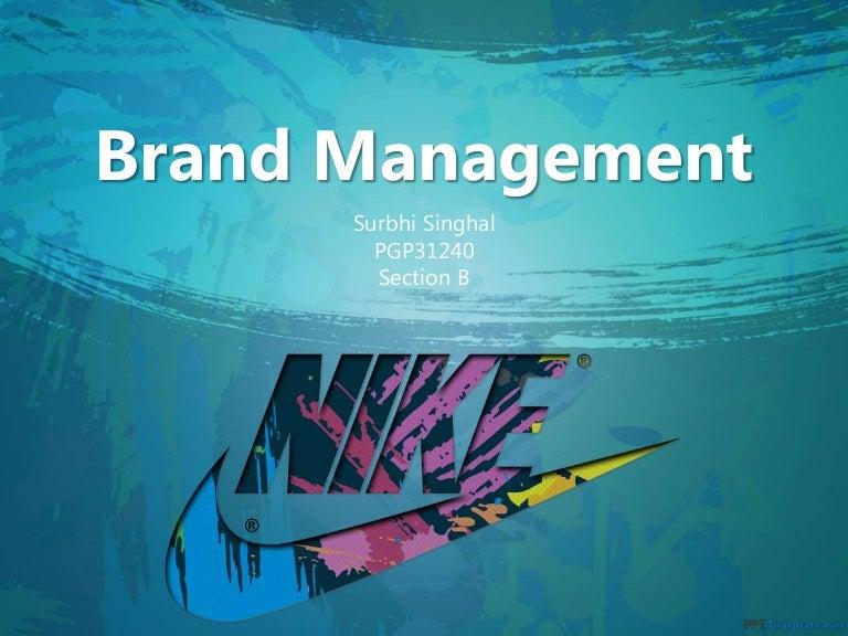 Brand Management Nike