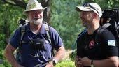 Brandon Wilson & Anders Stävhag, 2 World Explorers on the St Olafs trail, Sweden