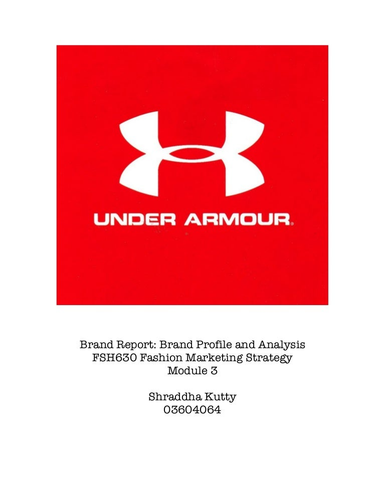 5710092dc2 Brand Report: Under Armour