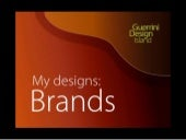 Portfolio of Guerrini Design Island´s Brand Designs for Companies, Institutions and Organizations