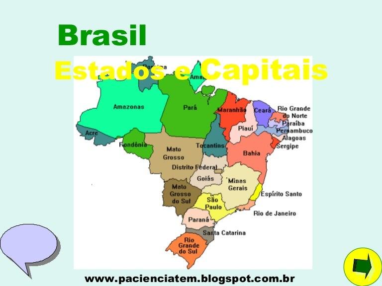 Populares Brasil estados e capitais ZU36