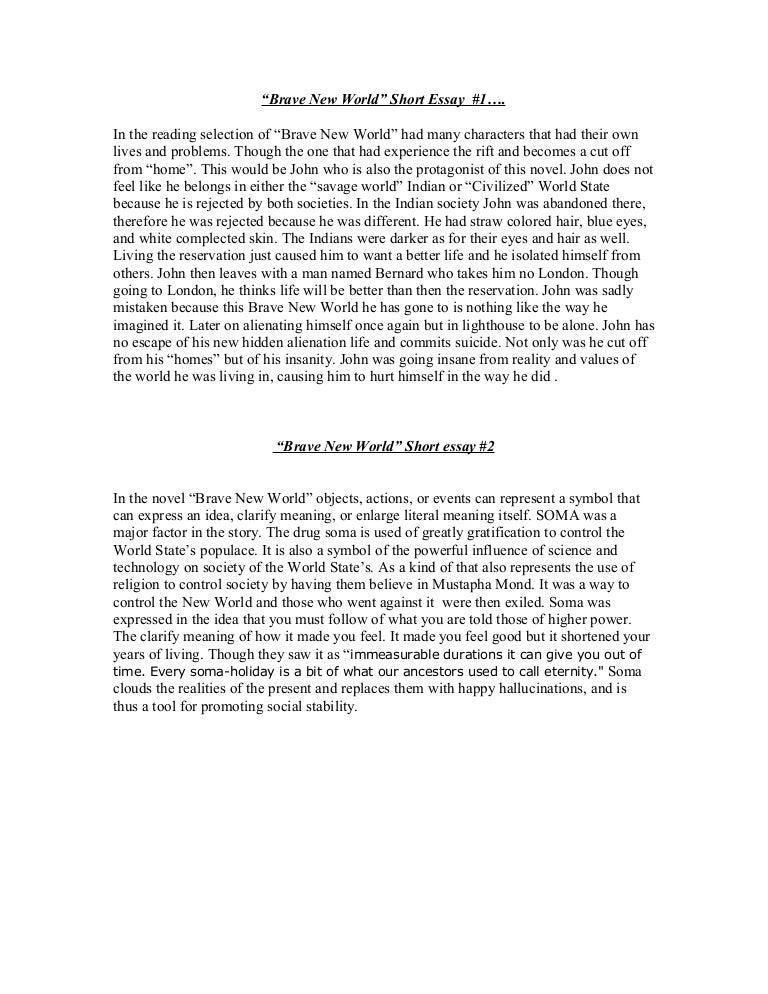 Essay Class  Argumentative Essay On Marijuana also Jane Eyre Essay Topics Brave New World Science Argumentative Essay Topics