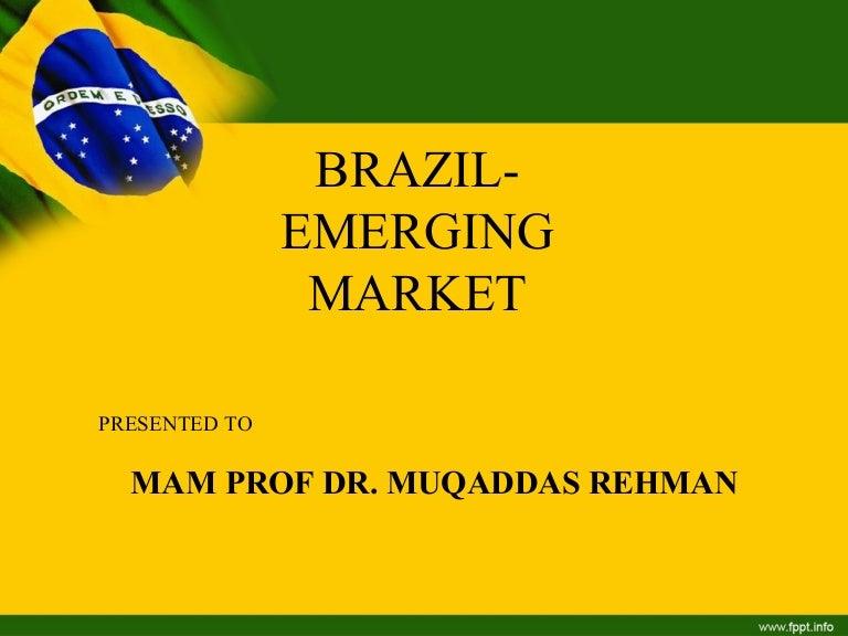brazil as emerging marketsayyed khawar abbas, Presentation templates